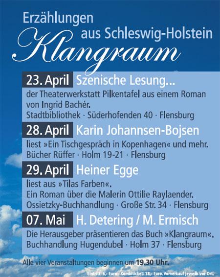 Klangraum – Ein Abend mit Heinrich Detering und Maren Ermisch bei Hugendubel