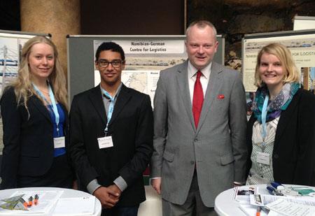 FH Flensburg Studierende präsentierten sich auf Energieforum