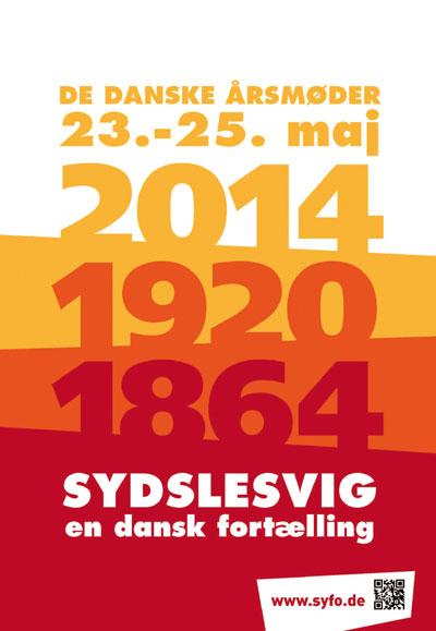 Årsmøde – Das große Treffen der dänischen Minderheit 2015 in Flensburg, Schleswig und Husum  – Programm