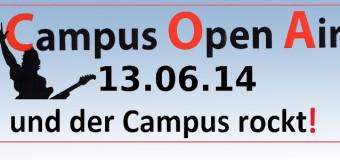 Das rockt! Campus-Open-Air 2014 in Flensburg