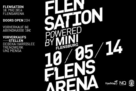 Flensation BLACK & WHITE in den Startlöchern – Am 10. Mai in der Flens Arena