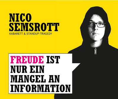 Nico Semsrott im Kühlhaus Flensburg – Freude ist nur ein Mangel an Information