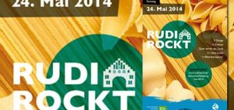 Volksbad Flensburg – Rudi rockt! mit  Band Braszta und Djs Camp GLadys – mit Kochdinner