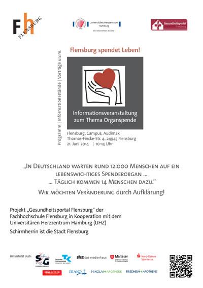 In Deutschland fehlen Spenderorgane – Flensburg spendet Leben