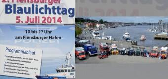 Blaulichttag in Flensburg – und auch Dänemark ist dabei