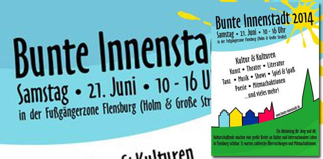 Bunte Innenstadt – Das Kulturfest in Flensburg