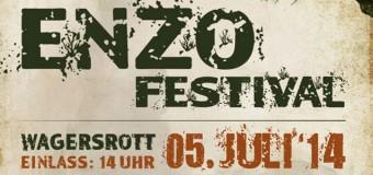 Enzo-Festival am 5 Juli 2014: Festivalkult(ur) trifft Angeliter Idylle