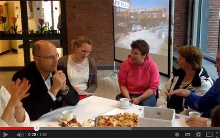 Stadtteil-Talk mit Flensburgs Oberbürgermeister Simon Faber