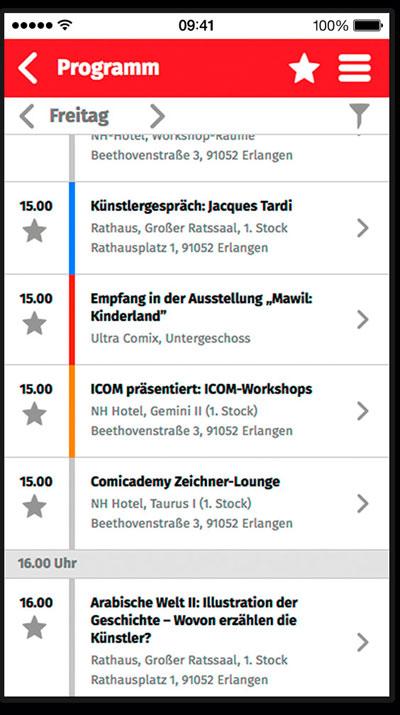 FH-Studierende präsentieren sich auf dem Comic Salon Erlangen