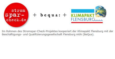 "Klimapakt kooperiert mit Projekt ""Stromspar-Check"""