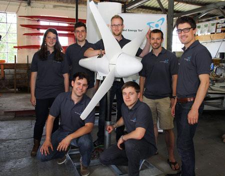 Wind-Studierende auf Mission Titelverteidigung