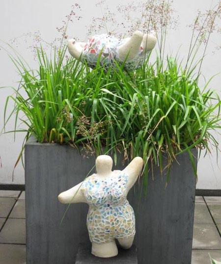 Arbeitssuchende üben Kunst – Ausstellung im Flensburger Gesundheitshaus