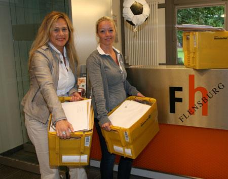 Über 4.000 Bewerbungen für ein Studium an der Fachhochschule Flensburg eingegangen
