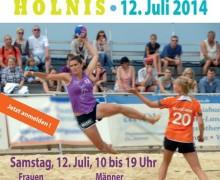 Erste Landesmeisterschaft im Beachhandball in Holnis