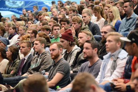 Volle Hörsäle zum Semesterstart der FH in Flensburg