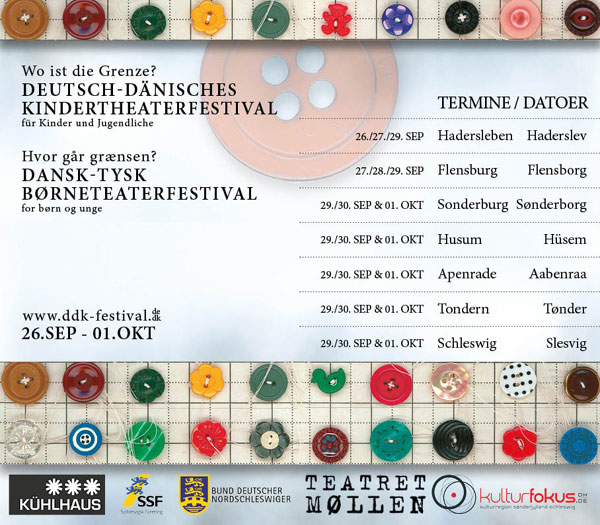 Das Deutsch-Dänische Kindertheaterfestival – Dansk-Tysk Børneteaterfestival in Flensburg