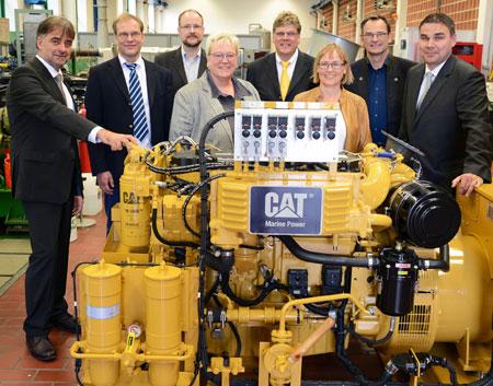 Neue Hardware für  die maritime Ausbildung in Flensburg