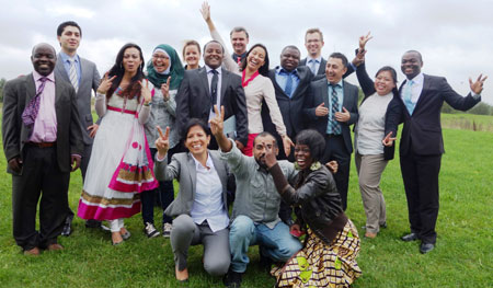 "Flensburg – Bewegende Abschlussfeier des Masterstudiengangs ""Energy and Environmental Management in Developing Countries"""