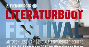 hanseboot ist Partner des zweiten Literaturboot-Festivals in Flensburg