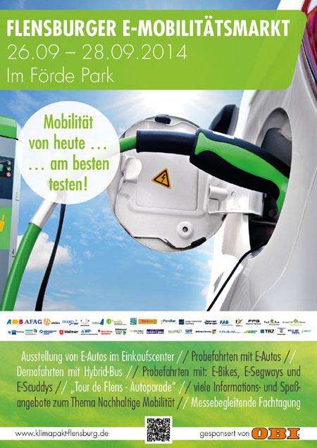Flensburger E-Mobilitätsmarkt im Förde Park