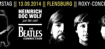 ABGESAGT! Und nur im Flensburger Roxy: Johnny Cash vom feinsten sowie The Beatles
