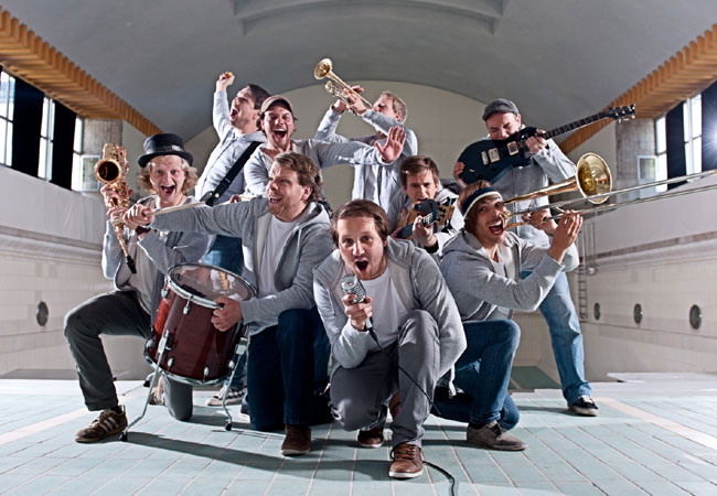 Es fetzt im Volksbad Flensburg – Tequila & the Sunrise Gang
