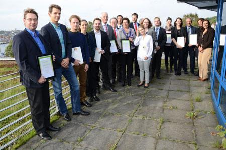 FH Flensburg: Regionale Wirtschaft unterstützt Deutschlandstipendien