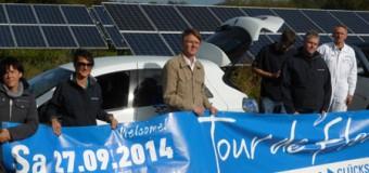 Tour de Flens: Elektromobilität nimmt Fahrt auf