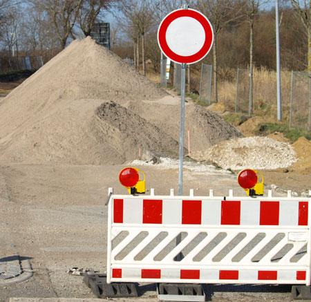 Verkehrsbehinderungen in Flensburg:  Merkurstraße und Twedter Feld werden asphaltiert