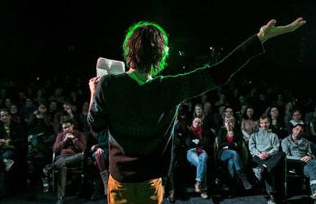 Dabei sein? Der U20 Poetry Slam im Flensburger Kühlhaus
