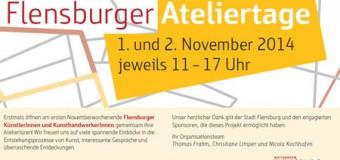 Die Flensburger Ateliertage am 1. und 2. November 2014