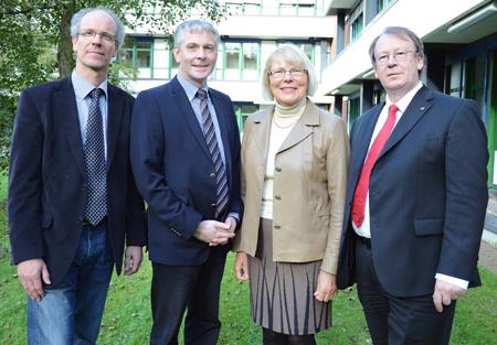 Prof. Watter wird der neue Präsident der Fachhochschule Flensburg