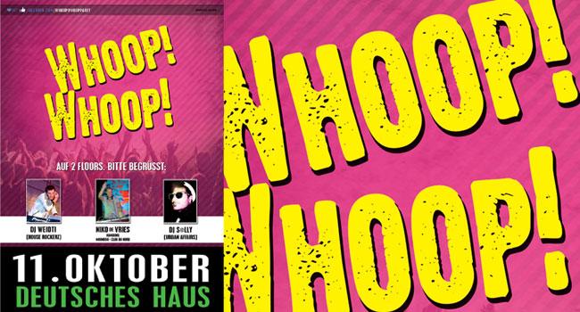 Es macht wieder Whoop! Whoop! im Deutschen Haus Flensburg