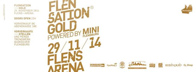 Flensation GOLD – Die Party in der Flens-Arena