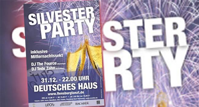 Flensburg tanzt DIE Silvesterparty im Deutschen Haus