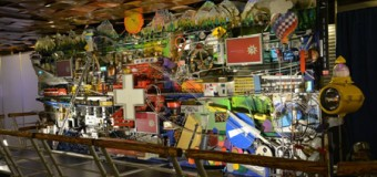 Kugelbahn-Kunstwerk aus der Schweiz zu Gast in der Phänomenta