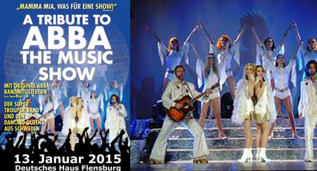 ABBA Total: A TRIBUTE TO ABBA – THE MUSIC SHOW im Deutschen Haus