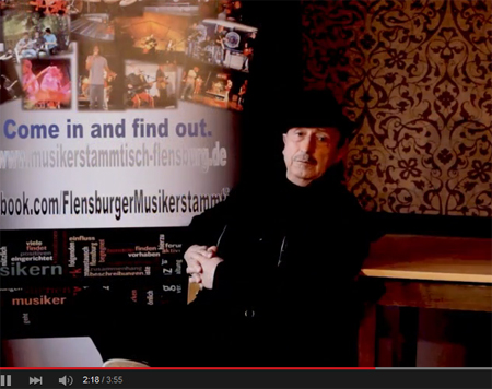 Feines Video des Musikerstammtisches aus Flensburg