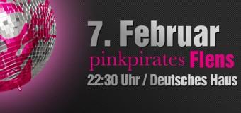 pinkpirates – Die Party im Flensburger Deutschen Haus