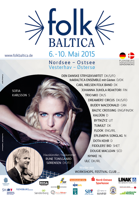 folkBALTICA präsentiert vom 6. bis 10. Mai das Nordsee-Ostsee-Festival