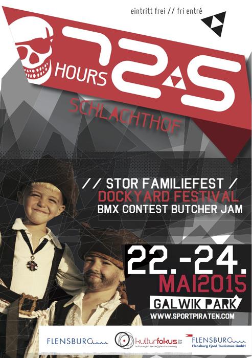 Erste Infos: 72, 5 hours Schlachthof – Butcher Jam – Dockyard Festival in Flensburg