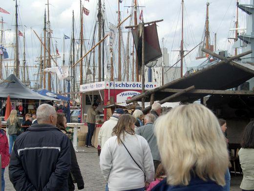 Flensburger Rumregatta 2015 mit viel Spaß und schönen Schiffen
