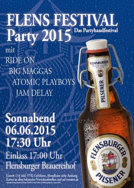 Das FlensFestival 2015 auf dem Brauereihof in Flensburg