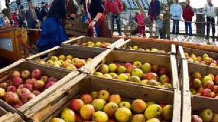 Tradition: Apfelfahrt in Flensburg