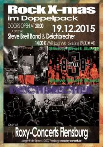 Live in Flensburg: Rock-X-mas im Roxy