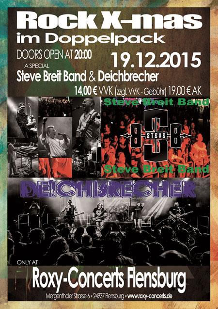 Weihnachten wird geil! Rock-X-mas Pack live im Roxy Flensburg