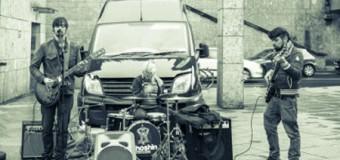 Shoshin aus England auf der Bühne des Flensburger Kühlhauses live
