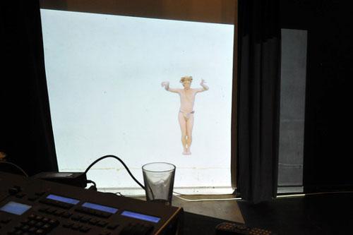 Pilkentafel in Flensburg: Die Dritte Gorgone – Wer in den Bildschirm blickt erstarrt