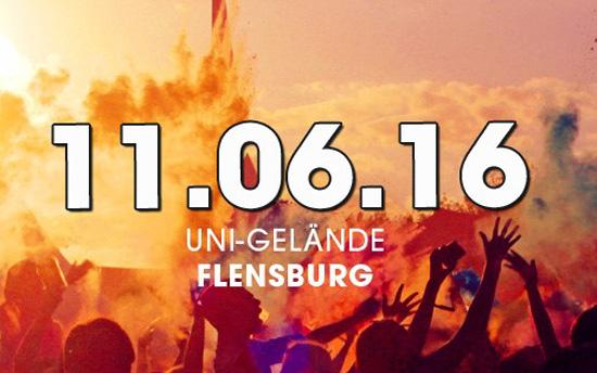 Alternativen zum Flens Festival am 11.6. in Flensburg – HOLI, Slam und Rudi Rockt
