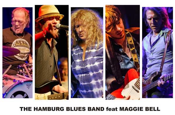 Kult-Band in Flensburg: Hamburg Blues Band mit Krissy Matthews und Maggie Bell